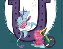 Alphabet Adventure in Alliteration: Umberto the Unicorn