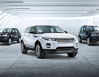 Cenário 3d Land Rover - Pict Estúdio