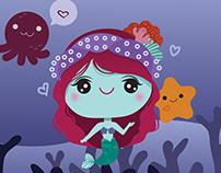 Kawaii mermaid