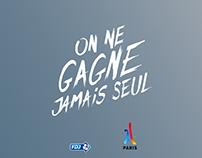 JO Paris 2024 / Campagne FDJ