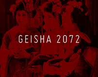 """Geisha 2072"" digital album cover"