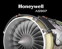 Engine - Honeywell AS907
