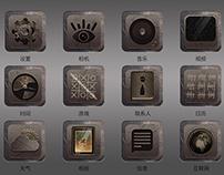 Skeuomorph icons
