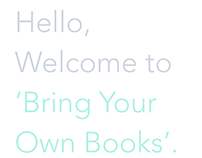 Brink your own books APP