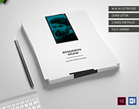 8 PAGES RESUME TEMPLATE