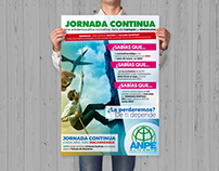 CArtel Jornada COntínua - ANPE Comunidad Valenciana