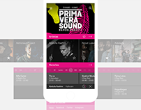 Primavera Sound — App