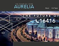 AURELIA Landing Page