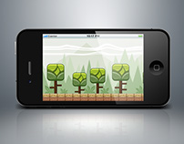 Square Tree Game Background