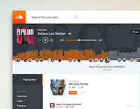 SoundCloud Redesign - For Fun!