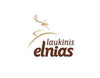 Leather clothing store LAUKINIS ELNIAS / WILD DEER logo