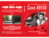 DVD case cover