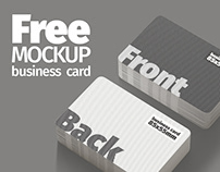 FREE MOCKUP Business Card (85x55mm)