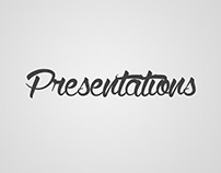 Powerpoint and Keynote Presentations
