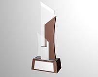 Trophy Concept Design (Pewter, Glass, Wood)