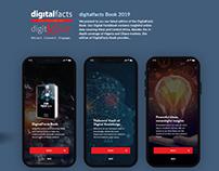 UI/UX for Digital Facts Book Mobile App
