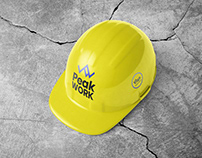 Free Construction Safety Helmet / Cap Mockup PSD