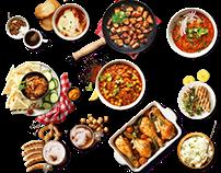 Продается дизайн сайта онлайн-заказа готовых блюд!