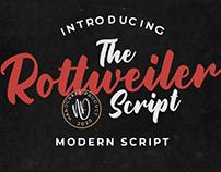 FREE | Rottweiler Modern Script