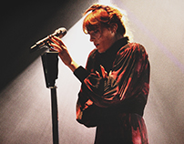 Florence + the Machine, Concert Photography