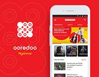 Ooredoo Myanmar entertainment portal