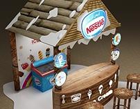 Nestlé Ice Cream Booth