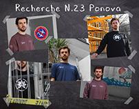 Recherche N23 Ponova