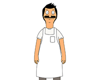 Character Illustration - Bob's Burgers - Just for fun
