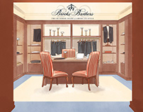 Live drawing - Brooks Brothers celebrations