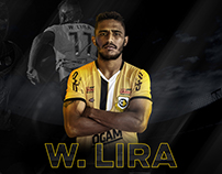 Willian Lira - São Bernardo Player Artwork