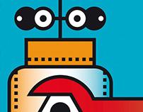 A Robot Making a Robot / Poster