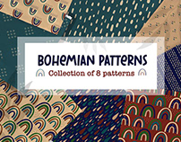 FREE PAPER PACK Bohemian Patterns
