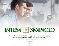 Intesa Sanpaolo UX/UI - Web Design