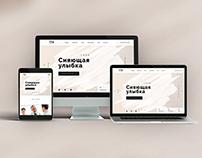 Clinics website design