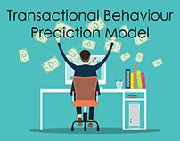 Transactional Behavior Prediction Model