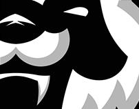 PANDA MASCOT LOGO FOR TEAM ELOCITY