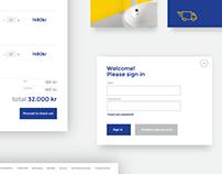 Swedmart website UI redesign