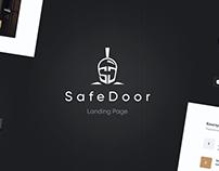 SafeDoor - Landing page