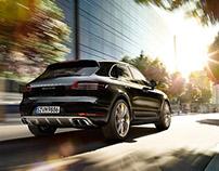 Porsche Macan Turbo - CGI & Retouching