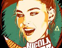 Nicola Anne Peltz Portrait Illustration