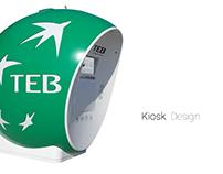 Kiosk Design / TEB