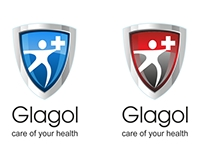 Creating of logo for Glagol clinic. Moscow