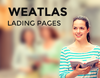 Landing pages for Weatlas