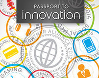 Passport to Innovation - Event Branding