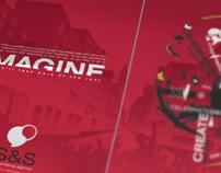 S&S advertising and marketing corporate branding