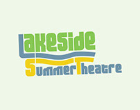 Lakeside Summer Theatre - Program Poster