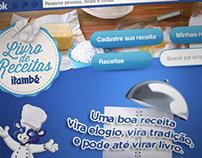 Livro de Receitas Itambé Facebook app