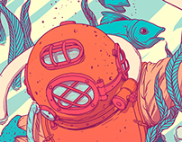 Illustration // Diver