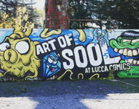 Wall @ Lucca Comics And Games 2015