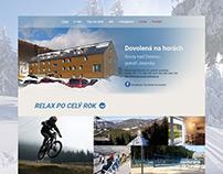 Úspěšný redesign webových stránek pro ubytování